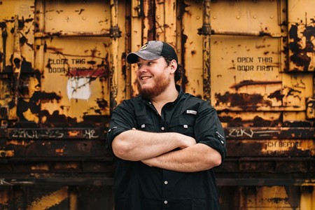 Luke Combs hits The Music Vault this weekend.
