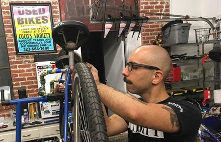 Henry Rocha is manager of Savannah Bicycle Campaign's New Standard Cycles program, which provides refurbished bicycles to deserving people in our community.