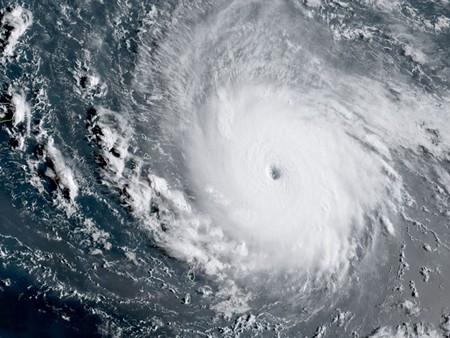 Hurricane Irma as a Category 5 storm - IMAGE COURTESY OF NOAA