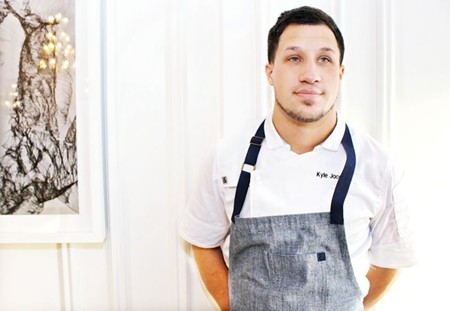 Chef Kyle Jacovino of 1540 Room