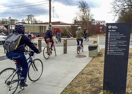 Atlanta's BeltLine has attracted significant residential and commercial development, along with people who walk, run, and ride bikes. Could it also attract Amazon?
