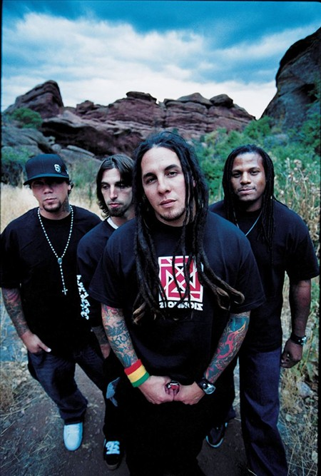 """P.O.D. brings hits like """"Alive"""" and """"Youth of the Nation"""" to Stage on Bay."""