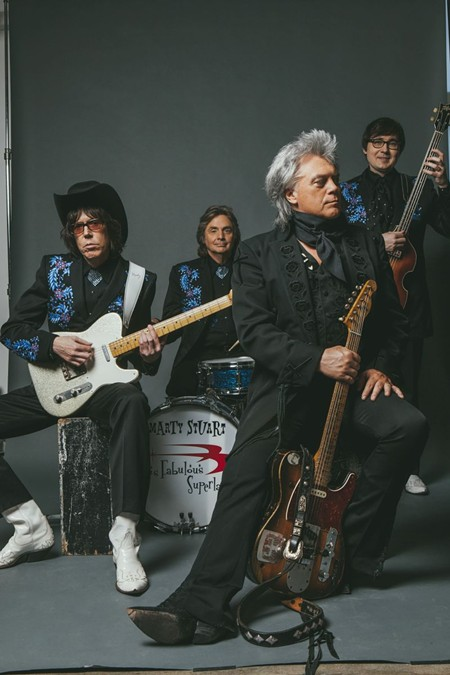 Marty Stuart and His Fabulous Superlatives are a highlight of Savannah Music Festival.