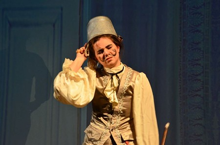 A scene from a VOICE Fest studio opera production of The Marriage of Figaro.