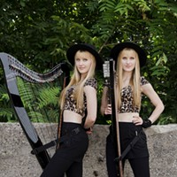 Two sisters, two harps, and a funeral home