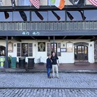 An Irish goodbye