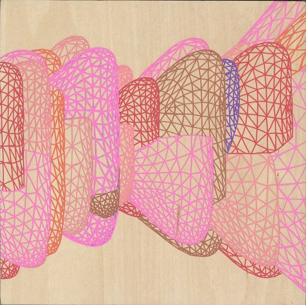 """""""Text Series: Pink Roy Moment 2"""" by Heather Szatmary"""