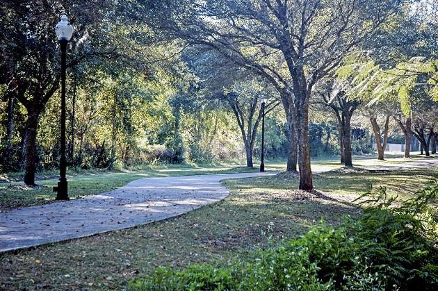 The Riverwalk Trail in Woodbine, Georgia. Camden County has emerged as a leader in trail development on the Georgia Coast. - PHOTO COURTESY CITY OF WOODBINE