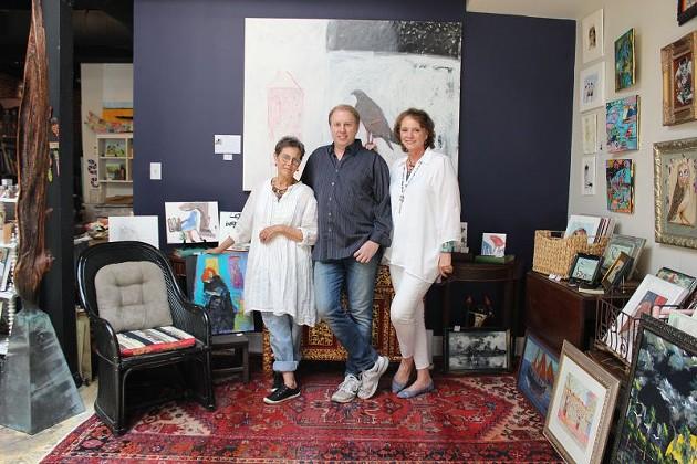 Helen Durant, Russell Kueker, and Leslie Lovell.