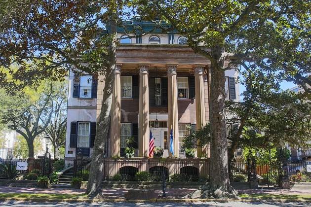 The Harper Fowlkes House.