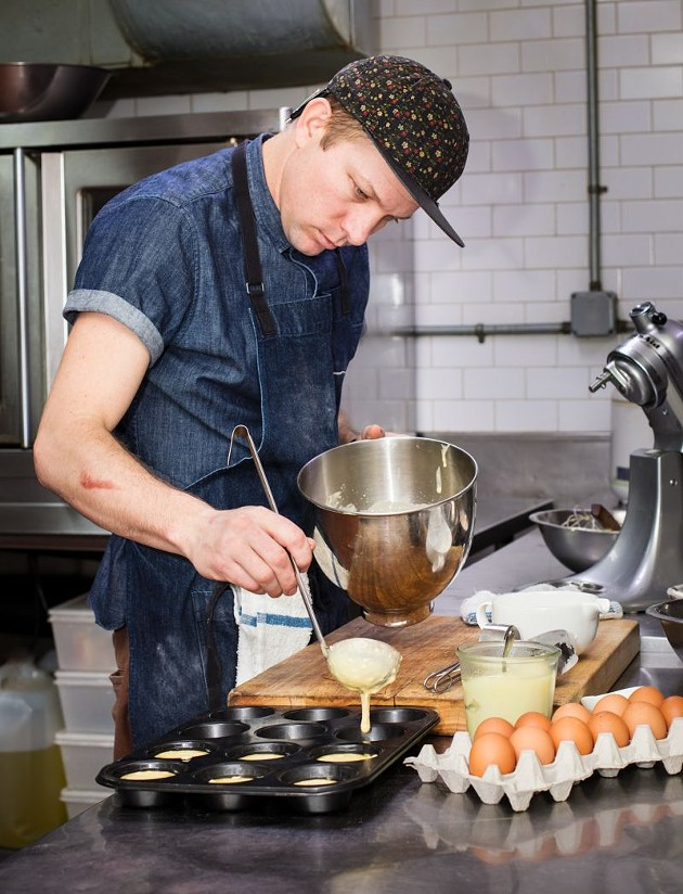 Chef Nick Wilber. Photo by Steve Freihon.