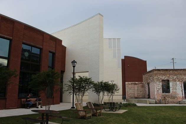 The Savannah Cultural Arts Center.
