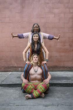 Teresa-Michelle Walker, - Cecilia Tran Arango, - Chris Stanley. - PHOTO BY GEOFF L. JOHNSON