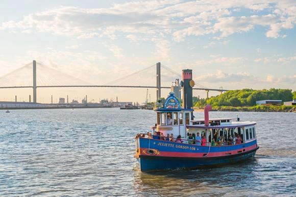 The Juliette Gordon Low ferry boat