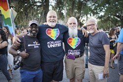 Photo from the LGBT Center's Stonewall anniversary block party in June