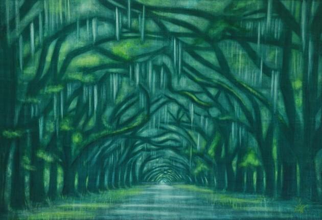 'Wormsloe Canopy.'