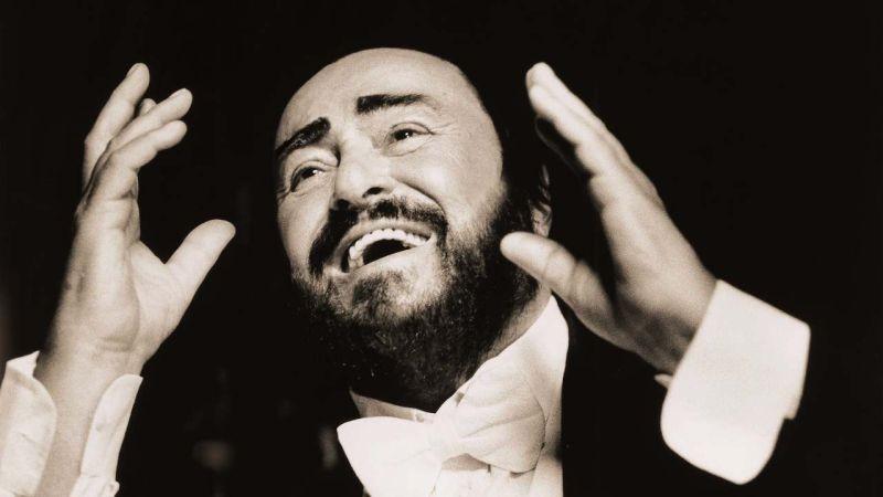 "From ""Pavarotti."""