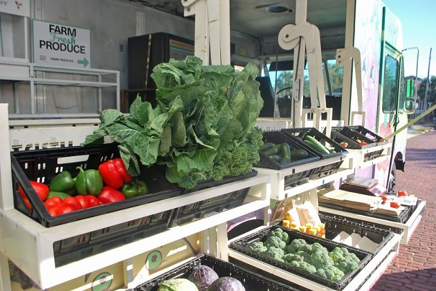 Produce at the Farm Truck 912.