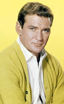 "Rod Taylor from ""Darker Than Amber."""