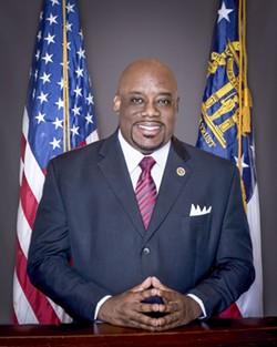 Mayor Johnson's official City portrait photo.