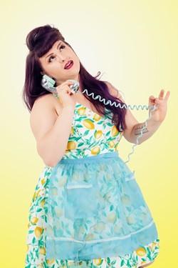 Performer Sadie DeSade.