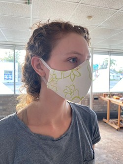 The masks made by MMBbyHand are going to any medical professional that needs them.