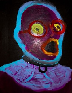 One of Funck's self-portraits (yes, really).