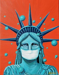 """Under Siege"" by Lisa Ocampo."