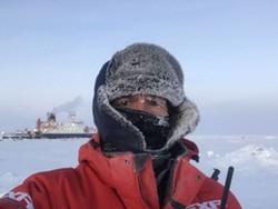 Chris Marsay on his prolonged Arctic trip.