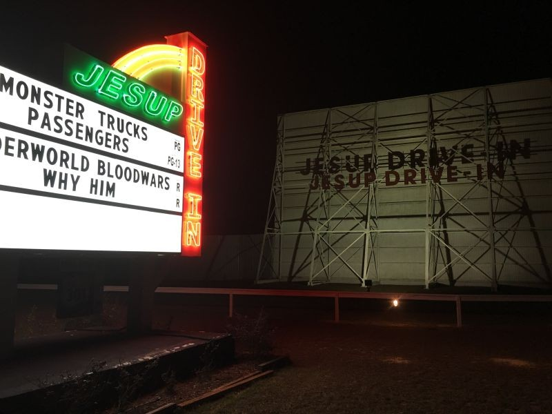 The Jesup Drive-in
