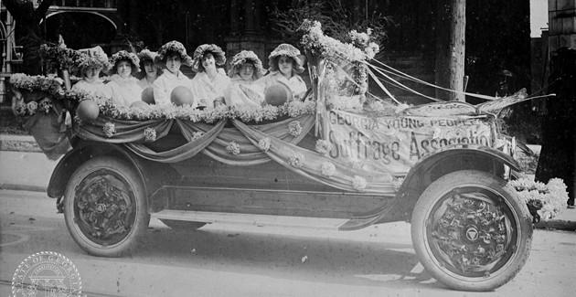 Archival photo, courtesy of the League of Women Voters of Coastal Georgia.
