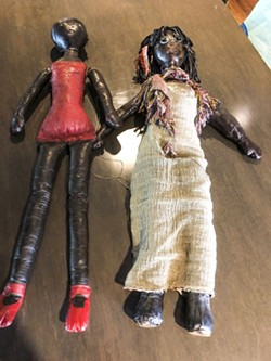 Joan Simmons' dolls.