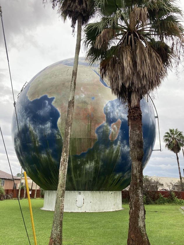 The Savannah Globe. - PHOTO BY JIM MOREKIS