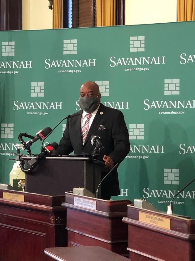 Savannah Mayor Van Johnson - BRANDY SIMPKINS/CONNECT SAVANNAH