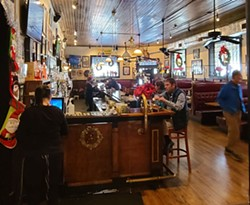 The storied bar at Savannah's Crystal Beer Parlor. - TAYLOR CLAYTON/CONNECT SAVANNAH