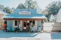 The exterior of Finches in Thunderbolt. - LINDY MOODY