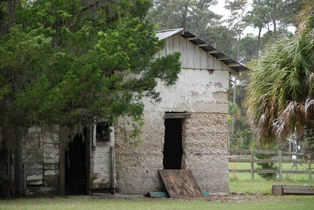 The smokehouse on Ossabaw Island is one of several heritage buildings remaining on this mostly undeveloped island. - FRAN LAPOLLA