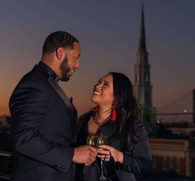 Fall in love all over again during the NYE party at Peregrin rooftop bar. - ADRIANA IRIS BOATWRIGHT