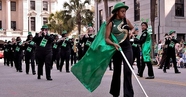 A photo from a past St. Patrick's Day Parade in Savannah. - COURTESY OF THE SAVANNAH ST. PATRICK'S DAY PARADE COMMITTEE