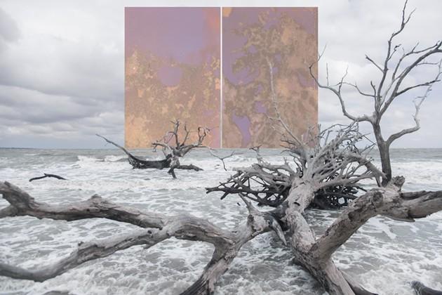 "Kyra Schmidt's ""Jekyll Island, Georgia"". - COURTESY OF LANDING CONTEMPORARY ART"
