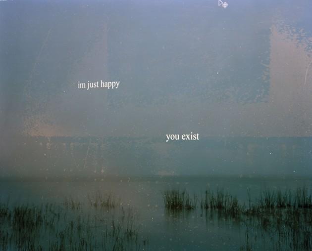 "Julia Wilson's ""You Exist"". - COURTESY OF LANDING CONTEMPORARY ART"