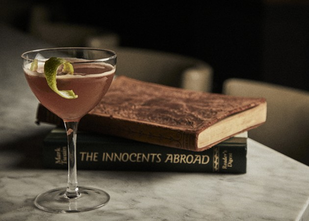 The Lion's Tail is one of The Trade Room's newly concocted whiskey-based cocktails. - PHOTO COURTESY OF THE ALIDA HOTEL