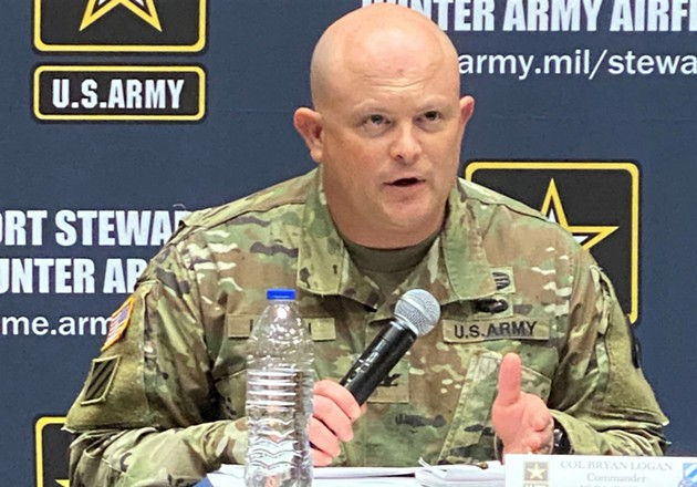 Col. Bryan Logan, Fort Stewart-Hunter Army Airfield garrison commander. - COURTESY OF U.S. ARMY