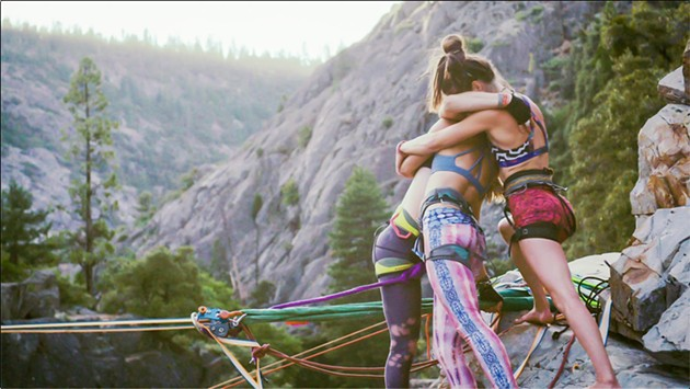 A scene from 'Slack Sisters', a documentary featured in the 2021 Mountainfilm on Tour - Savannah film festival. - COURTESY OF MOUNTAINFILM ON TOUR - SAVANNAH