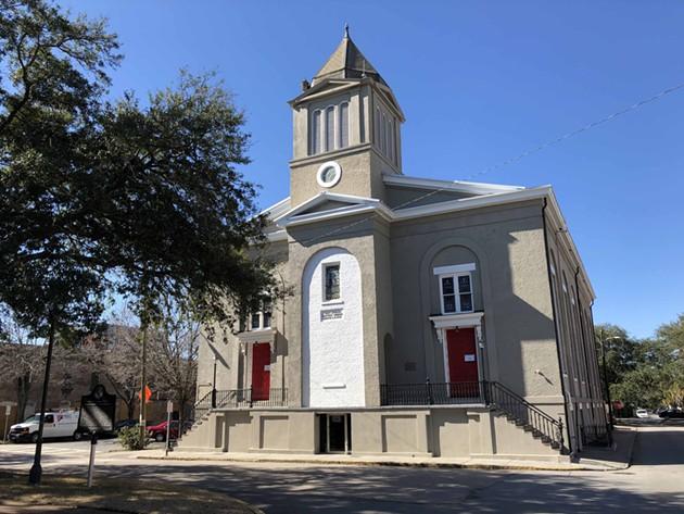 The First African Baptist Church on Savannah's Franklin Square. - NICK ROBERTSON/CONNECT SAVANNAH