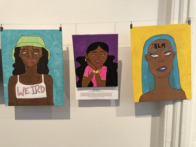 An image from the '#BLM' exhibit at the Beach Institute honoring Black History Month. - COURTESY OF THE BEACH INSTITUTE