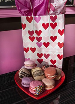 Marché de Macarons, a well-known Savannah specialty shop for cake-light French delights. - COURTESY OF MARCHÉ DE MACARONS