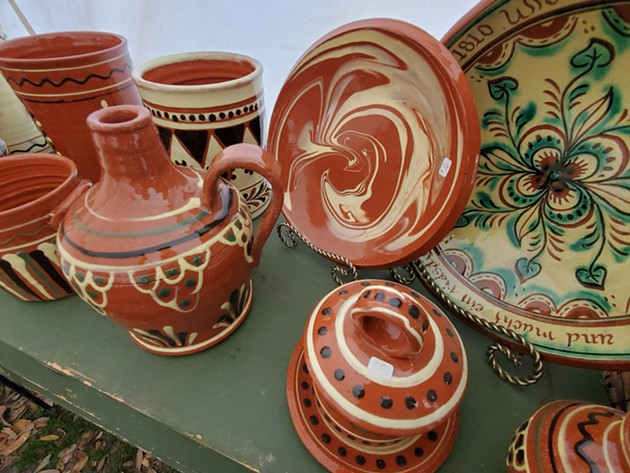 A variety of historically styled pottery created by Tammy Zettlemoyer. - COURTESY OF TAMMY ZETTLEMOYER