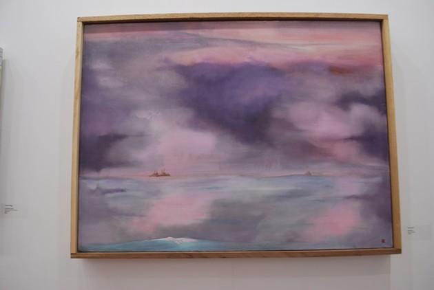 A painting by local artist Tom Curran, on view at Savannah's Cedar House Gallery. - NOELLE WIEHE/CONNECT SAVANNAH