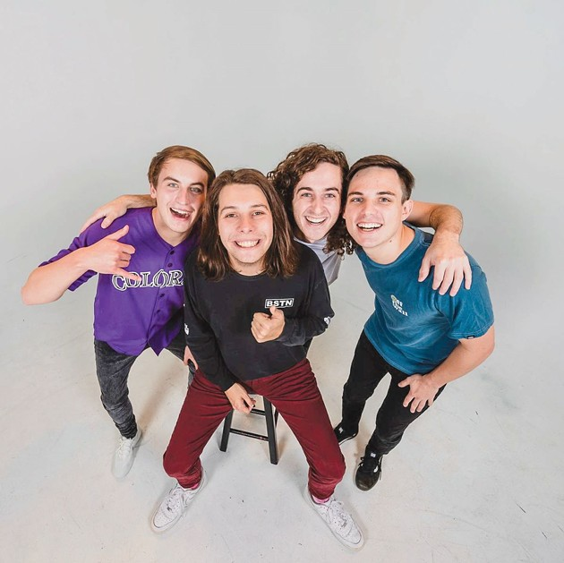 Neutral Snap, New Orleans-based pop-punk band, will perform at Barrelhouse South March 16 and 17. - PHOTO COURTESY OF LAZYEYE PHOTOGRAPHY